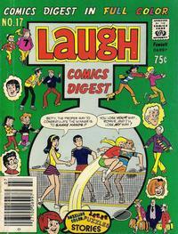 Cover Thumbnail for Laugh Comics Digest (Archie, 1974 series) #17