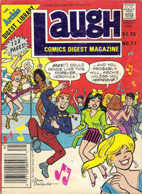 Cover Thumbnail for Laugh Comics Digest (Archie, 1974 series) #71