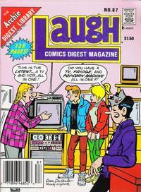Cover Thumbnail for Laugh Comics Digest (Archie, 1974 series) #87