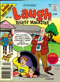 Cover Thumbnail for Laugh Comics Digest (Archie, 1974 series) #104 [Newsstand]