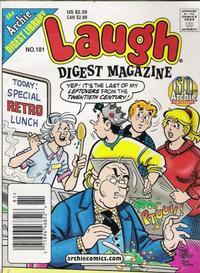 Cover Thumbnail for Laugh Comics Digest (Archie, 1974 series) #181