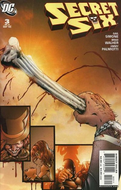 Cover for Secret Six (DC, 2006 series) #3