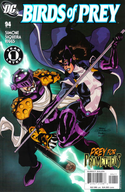 Cover for Birds of Prey (DC, 1999 series) #94