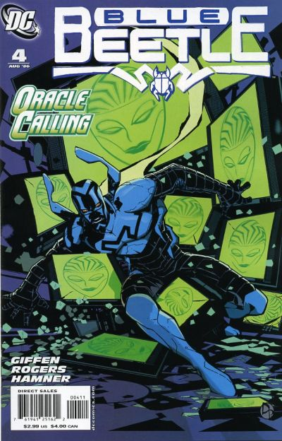 Cover for The Blue Beetle (DC, 2006 series) #4
