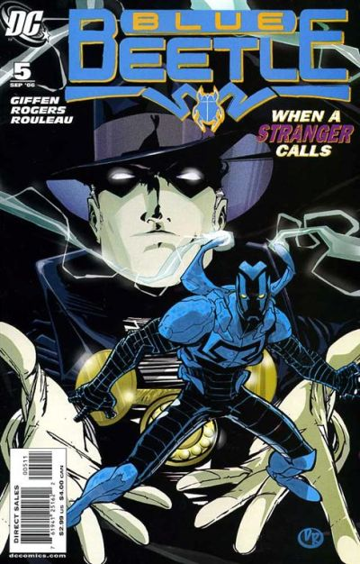 Cover for The Blue Beetle (DC, 2006 series) #5