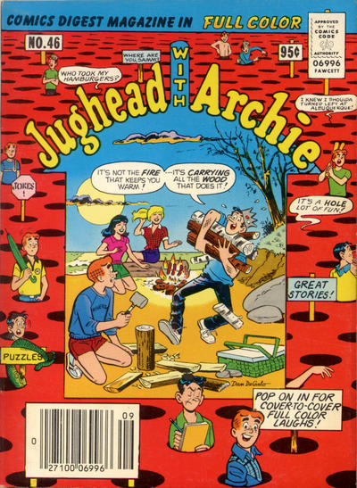 Cover for Jughead with Archie Digest (Archie, 1974 series) #46