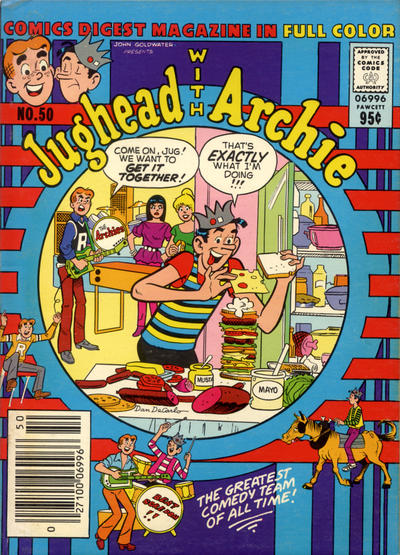 Cover for Jughead with Archie Digest (Archie, 1974 series) #50