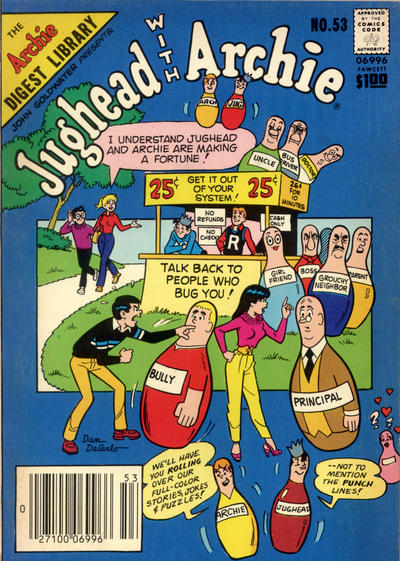 Cover for Jughead with Archie Digest (Archie, 1974 series) #53