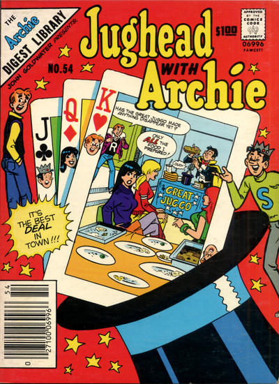 Cover for Jughead with Archie Digest (Archie, 1974 series) #54