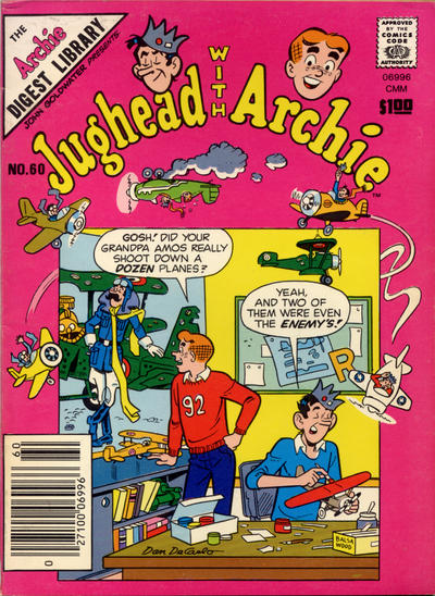 Cover for Jughead with Archie Digest (Archie, 1974 series) #60