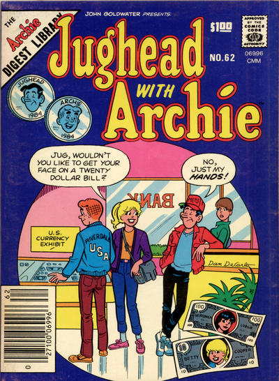 Cover for Jughead with Archie Digest (Archie, 1974 series) #62