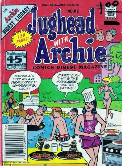Cover for Jughead with Archie Digest (Archie, 1974 series) #82