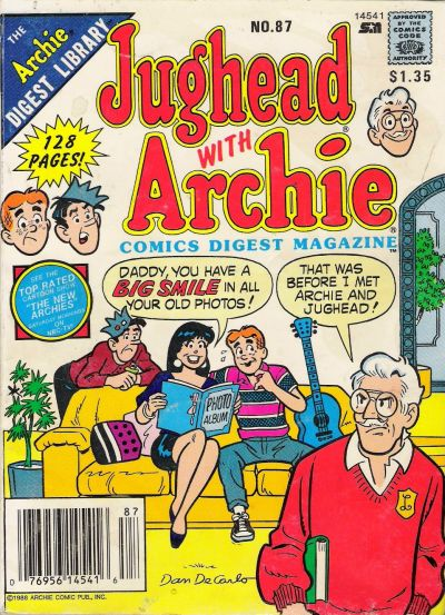 Cover for Jughead with Archie Digest (Archie, 1974 series) #87