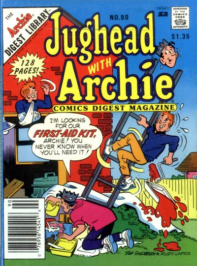 Cover for Jughead with Archie Digest (Archie, 1974 series) #90