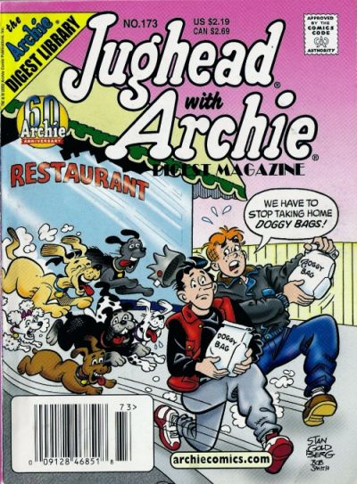 Cover for Jughead with Archie Digest (Archie, 1974 series) #173