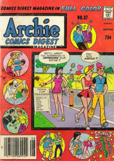 Cover for Archie Comics Digest (Archie, 1973 series) #37