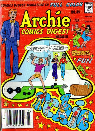 Cover for Archie Comics Digest (Archie, 1973 series) #39 [Canadian Newsstand]