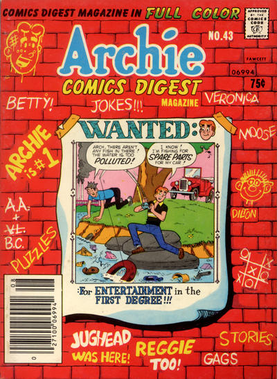 Cover for Archie Comics Digest (Archie, 1973 series) #43