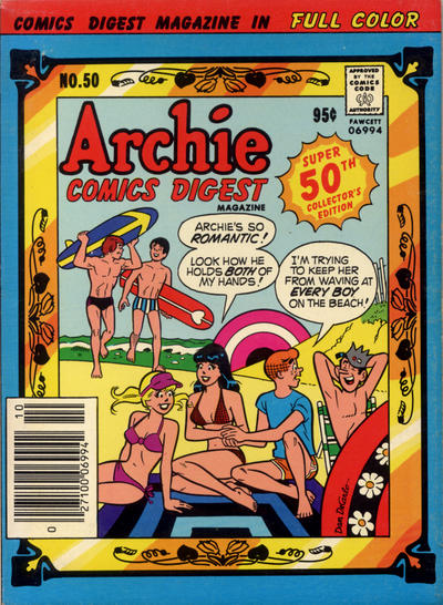 Cover for Archie Comics Digest (Archie, 1973 series) #50