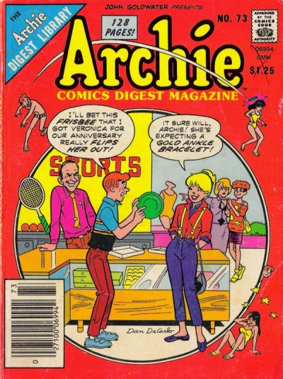 Cover for Archie Comics Digest (Archie, 1973 series) #73