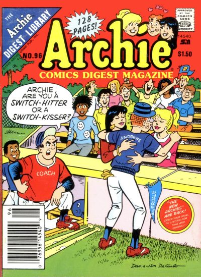 Cover for Archie Comics Digest (Archie, 1973 series) #96