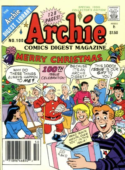 Cover for Archie Comics Digest (Archie, 1973 series) #100