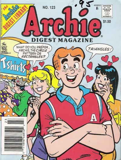 Cover for Archie Comics Digest (Archie, 1973 series) #123