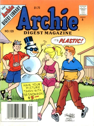 Cover for Archie Comics Digest (Archie, 1973 series) #129