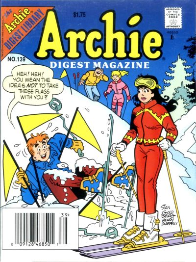 Cover for Archie Comics Digest (Archie, 1973 series) #139
