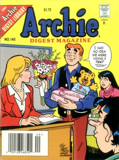 Cover for Archie Comics Digest (Archie, 1973 series) #140