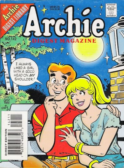 Cover for Archie Comics Digest (Archie, 1973 series) #142