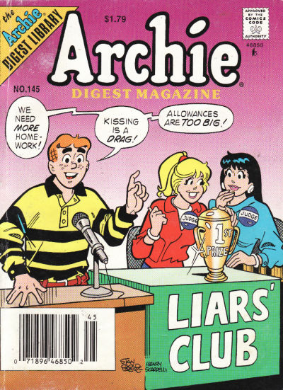 Cover for Archie Comics Digest (Archie, 1973 series) #145