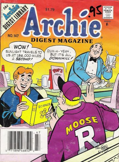 Cover for Archie Comics Digest (Archie, 1973 series) #147