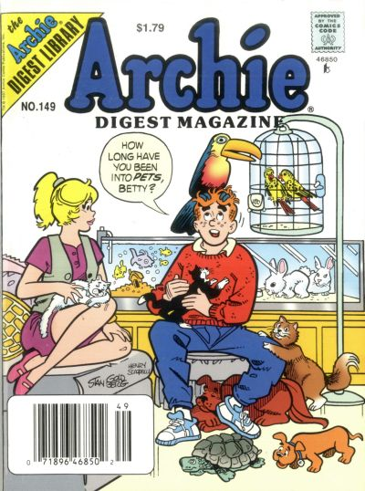 Cover for Archie Comics Digest (Archie, 1973 series) #149