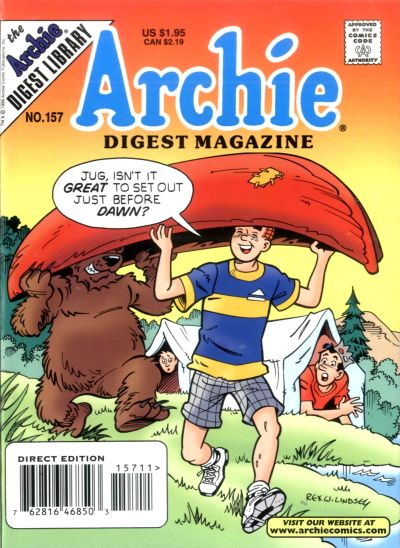 Cover for Archie Comics Digest (Archie, 1973 series) #157 [direct edition]