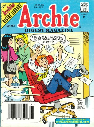 Cover for Archie Comics Digest (Archie, 1973 series) #161