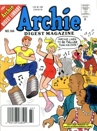 Cover for Archie Comics Digest (Archie, 1973 series) #164