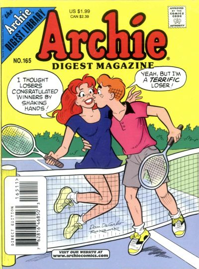 Cover for Archie Comics Digest (Archie, 1973 series) #165