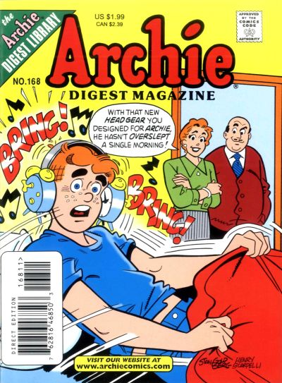 Cover for Archie Comics Digest (Archie, 1973 series) #168 [Direct]