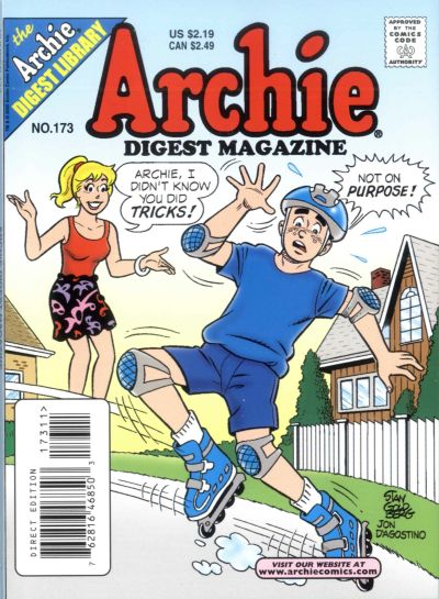 Cover for Archie Comics Digest (Archie, 1973 series) #173