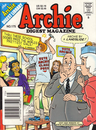 Cover for Archie Comics Digest (Archie, 1973 series) #175
