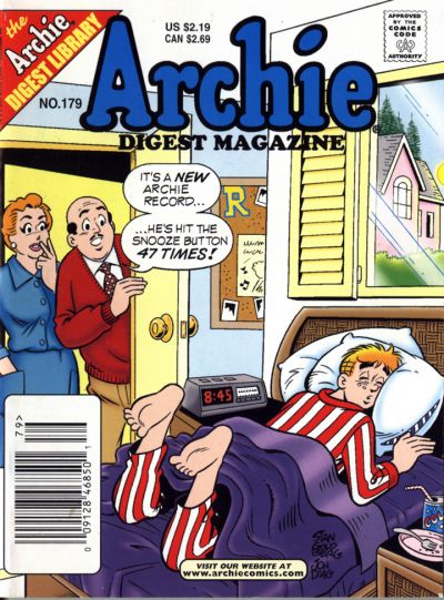 Cover for Archie Comics Digest (Archie, 1973 series) #179