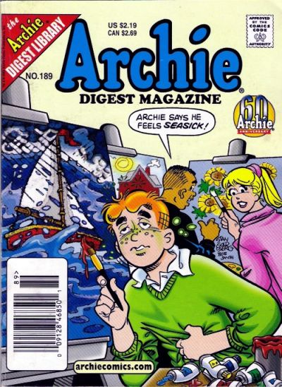 Cover for Archie Comics Digest (Archie, 1973 series) #189