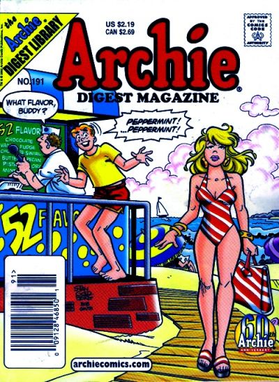 Cover for Archie Comics Digest (Archie, 1973 series) #191