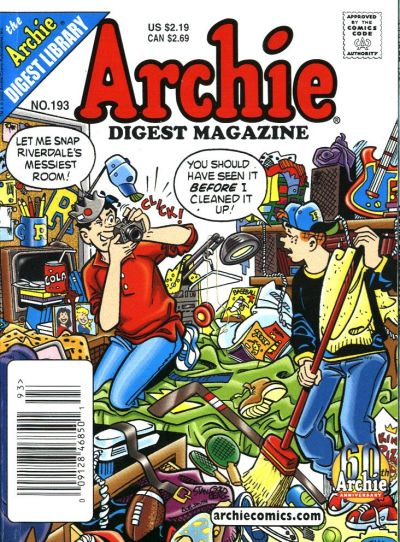 Cover for Archie Comics Digest (Archie, 1973 series) #193