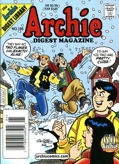 Cover for Archie Comics Digest (Archie, 1973 series) #195