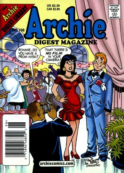 Cover for Archie Comics Digest (Archie, 1973 series) #198