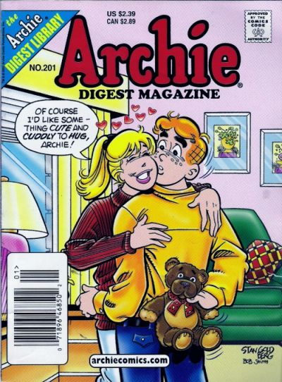 Cover for Archie Comics Digest (Archie, 1973 series) #201