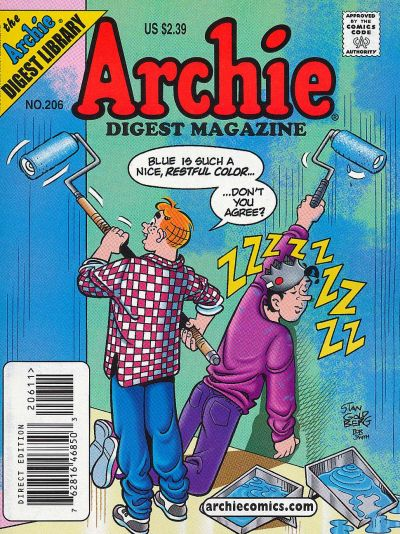 Cover for Archie Comics Digest (Archie, 1973 series) #206
