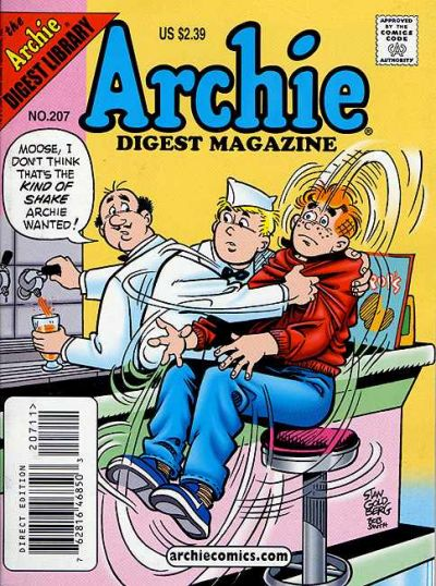 Cover for Archie Comics Digest (Archie, 1973 series) #207